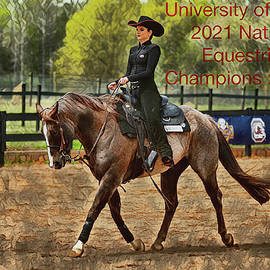 Equestrian Pride by Dennis Baswell