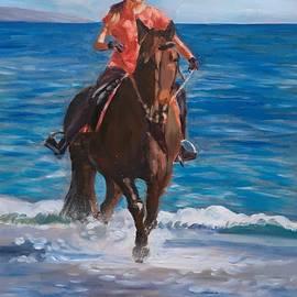 Equestrienne by Elena Sokolova