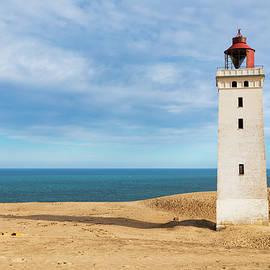 Rubjerg Knude lighthouse, North Jutland , Denmark by Kim Petersen