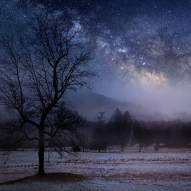 Ethereal Night Landscape by Bill Wakeley
