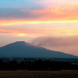 Etna early mornimg by Clive Beake