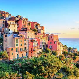 Evening in Cinque Terre by Alexey Stiop