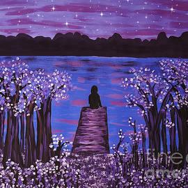 Evening Meditation by Diamante Lavendar