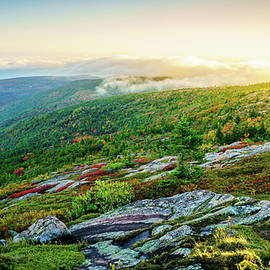 Evening on Cadillac Mountain by Alexey Stiop