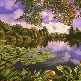 Evening Reflections by David Lloyd Glover
