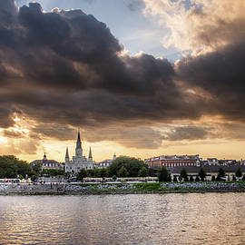 Evening Sky Over New Orleans by Chrystal Mimbs