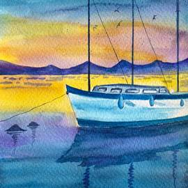 Evening time by Sonali Gangane