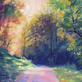 Evening Walk - Along the Roanoke River by Bonnie Mason