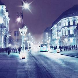 Evening Walk  by Slawek Aniol