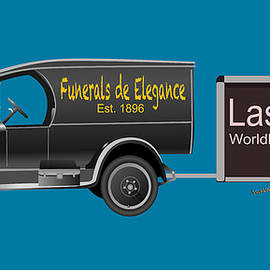 Ever Seen Them Towing a U-Haul Trailer Behind a Hearse by Chas Sinklier