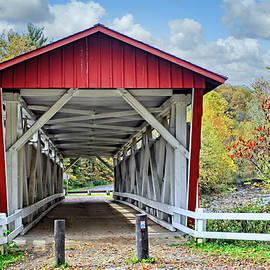 Everett Road Bridge by Marcia Colelli