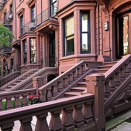 Example of Beacon Street Architecture, Boston, MA by Lyuba Filatova