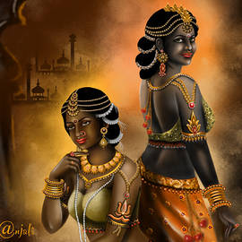 Exotic Indian art by Anjali Swami