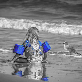 Exploring the Ocean and Beach selective color by TJ Baccari