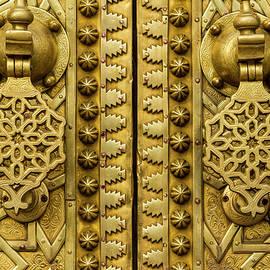 Exquisite Golden Doors  by Lindley Johnson