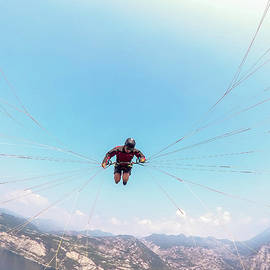 Extreme Paraglider Point Of View by Rick Neves