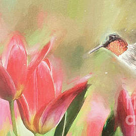 Eyeing The Tulips by Tina LeCour