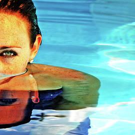 Eyes Above Water by Charles Benavidez