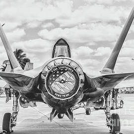 F-35 Lightning Rear Stance by Rene Triay Photography