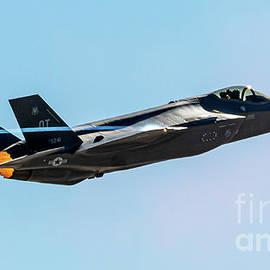 F-35a In Burner Pulling Vapes Climbing Back Up by Joe A Kunzler