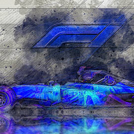 F1 The Art of Racing by Kevin Walker