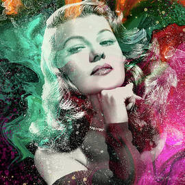 Fabulous Girls of the Past -Rita Hayworth   by Grace Iradian