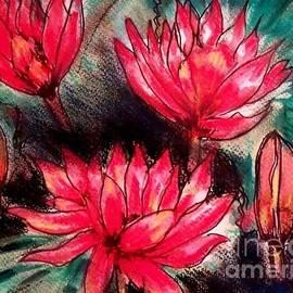 Fabulous Lillies by Angela Gannicott