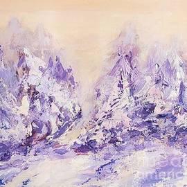 Fabulous winter by Olga Malamud-Pavlovich