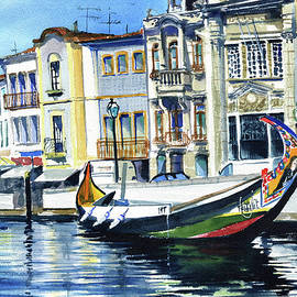 Facades in Aveiro Portugal by Dora Hathazi Mendes