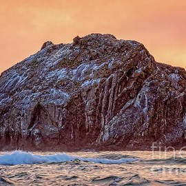 Face Rock by Charles Dobbs