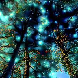 Fairies In The Forest by Deborah League