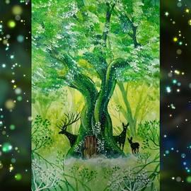 Fairy Tale Deer by Ekaterina Kentrkatty