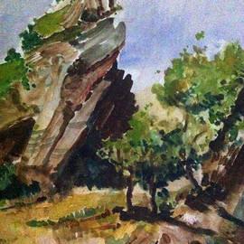 Falaise, Cliff by Nader Rangidan