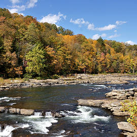 Fall Along The Youghiogheny River 1 by John Trommer