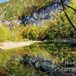 Fall At Buffalo River by Jennifer White