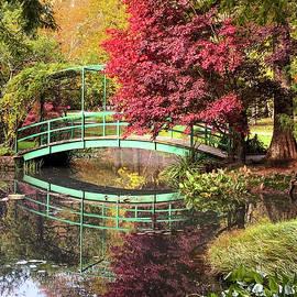 Fall at Gibbs Gardens by Mary Ann Artz