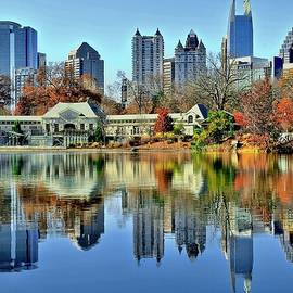Fall Color at Piedmont Park by Frozen in Time Fine Art Photography