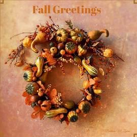 Fall Greetings - Series #2 by Barbara Zahno