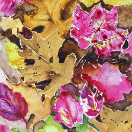 Fall Leaves by Patty Strubinger