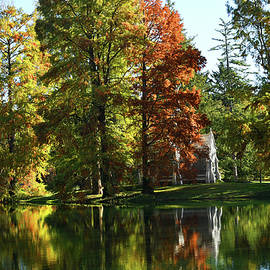 Fall Spring Grove Reflections by Robert Tubesing
