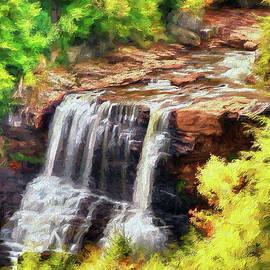 Fall Waterfall ap by Dan Carmichael