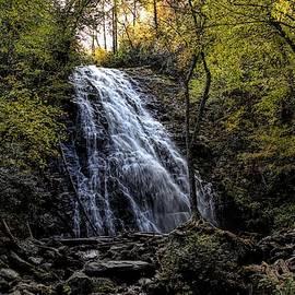 Falling into Autumn - Crabtree Falls NC by Chrystyne Novack