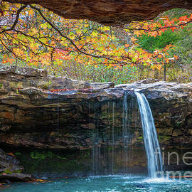 Falling Water Fall by Inge Johnsson