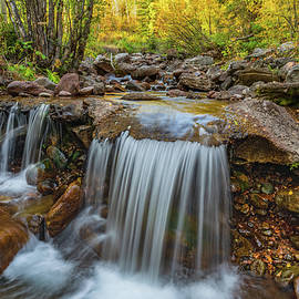 Falls of Fall by Steve Luther