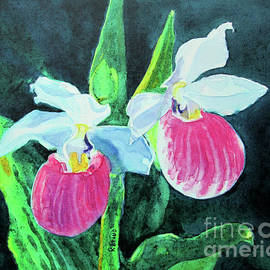 Fancy Lady Slippers by Kathy Braud