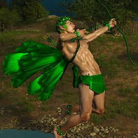 Fantasy Fairy Sports Archery 3 by Barroa Artworks
