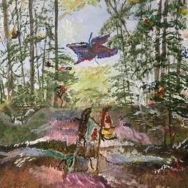 Fantasy Forest by Laura Kisaoglu