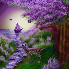 Fantasy Forest Sail by Gary F Richards