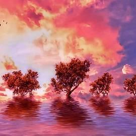 Fantasy Sky by KaFra Art