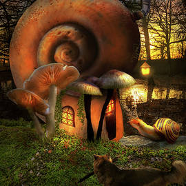 Fantasy - The Snailsman by Mike Savad